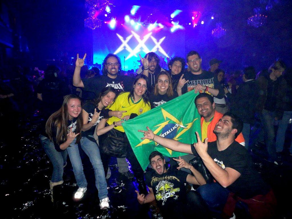 Brazilian Militia representando no Fillmore Theatre de Frisco