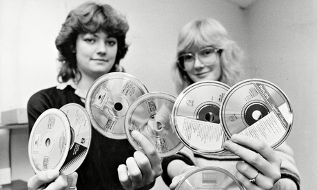 The new CD dazzles 80s consumers