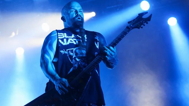Slayer Perform At Aragon Ballroom In Chicago Illinois