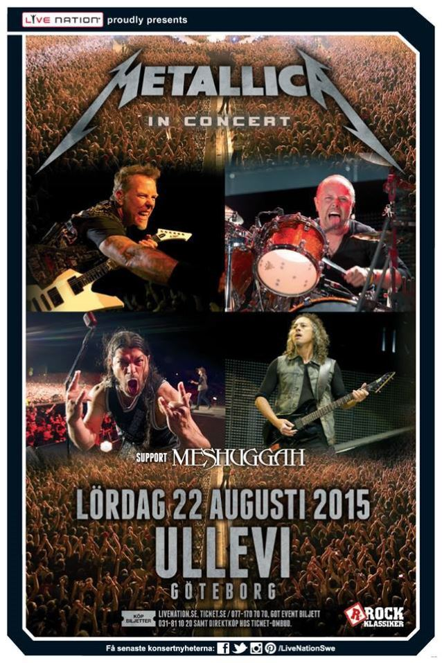 metallicagothenburg2015poster