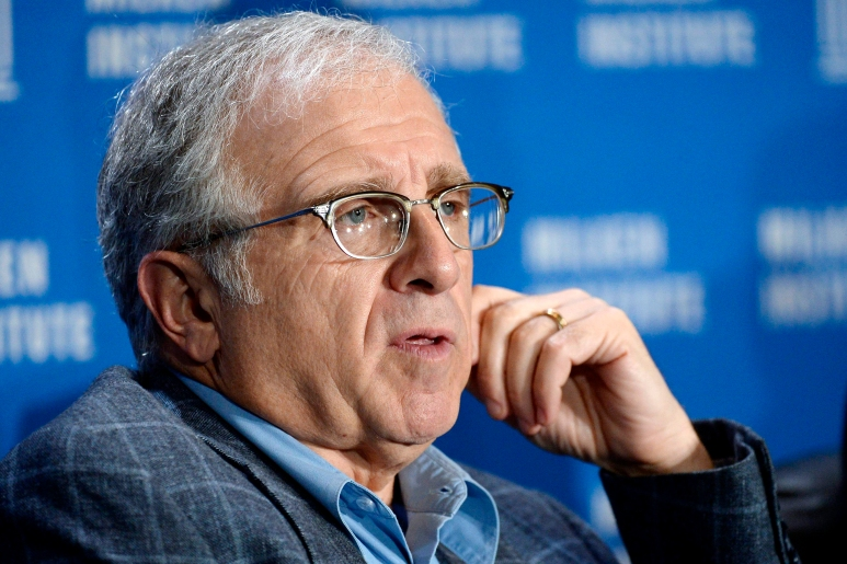 Irving Azoff speaks during The Evolution of Music and the Music Consumer session at the 2014 Milken Institute Global Conference in Beverly Hills